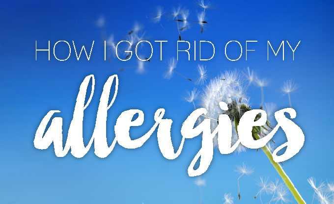holistic healing of seasonal allergies