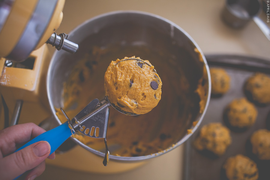 ORGANIC PUMPKIN COOKIES WITH NO CAKE MIX