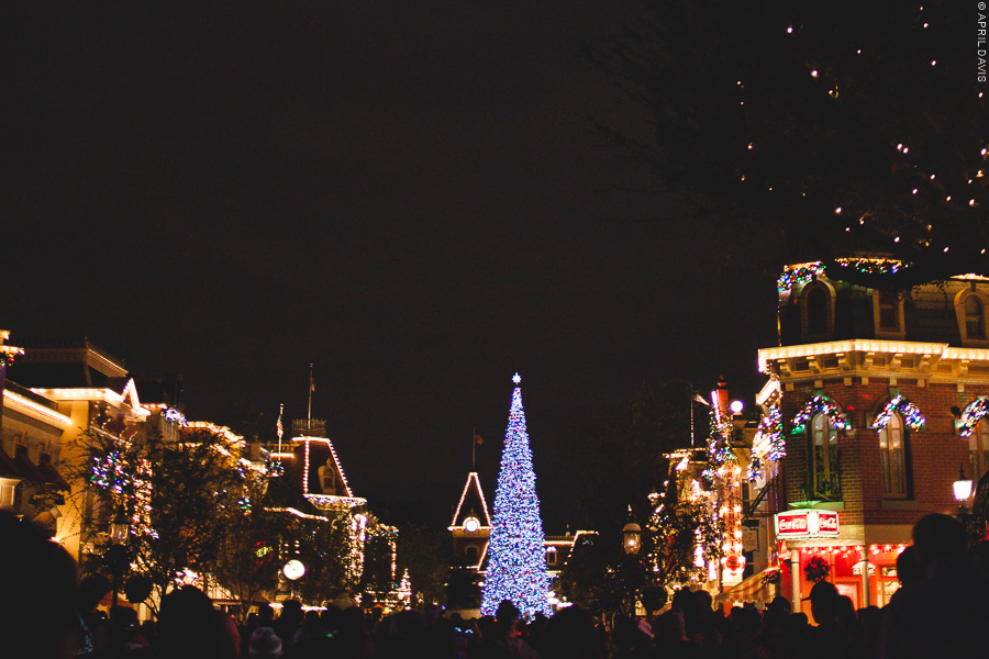DISNEYLAND DURING THE HOLIDAYS