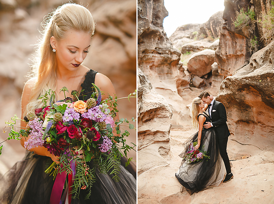 Beautiful and Moody Style shoot in southern utah by alyssa ence photography