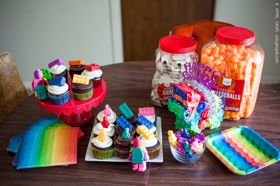 lego party ideas for girls, pink lego party