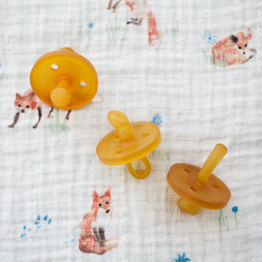 Natural pacifiers binkies perfect for breastfed babies