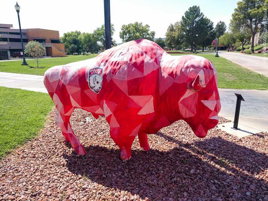 Dixie Trailblazers Bison Buffalo St George UT Art Walk-10