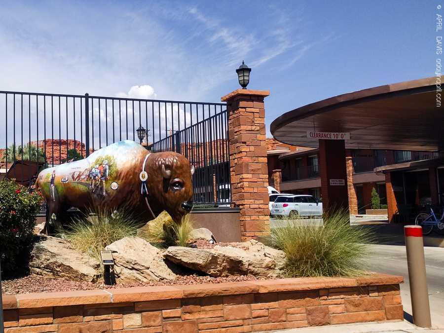 Dixie Trailblazers Bison Buffalo St George UT Art Walk-3