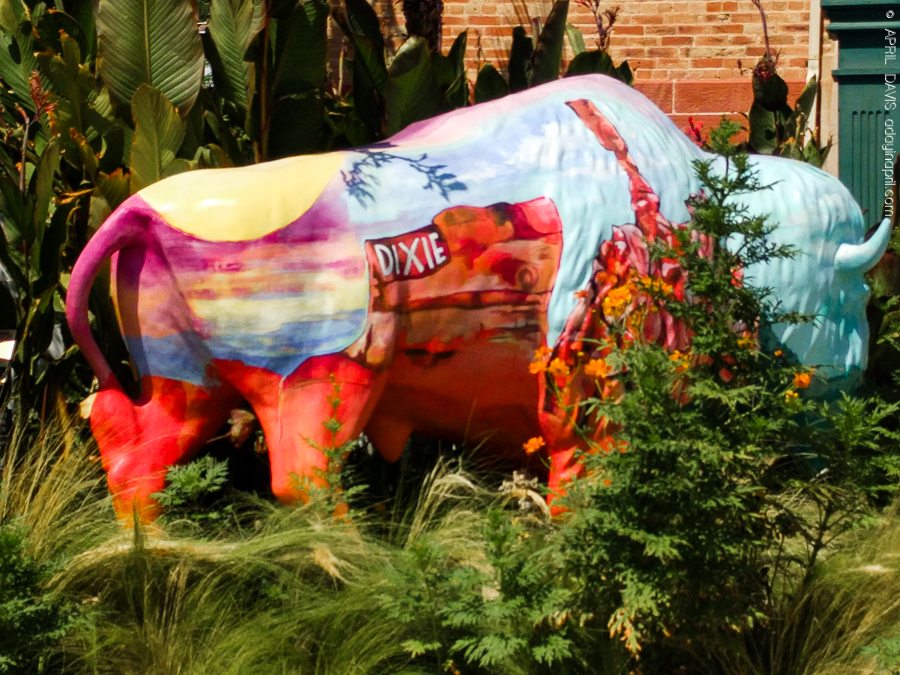 Dixie Trailblazers Bison Buffalo St George UT Art Walk-4